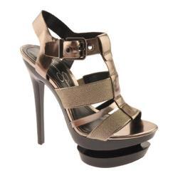 Women's Jessica Simpson Cathi 2 Graphite/Silver Leather