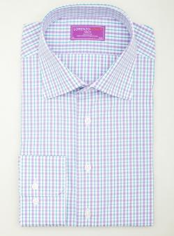 Lorenzo Uomo Gingham Button Down