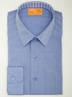 Lorenzo Uomo Solid Button Down