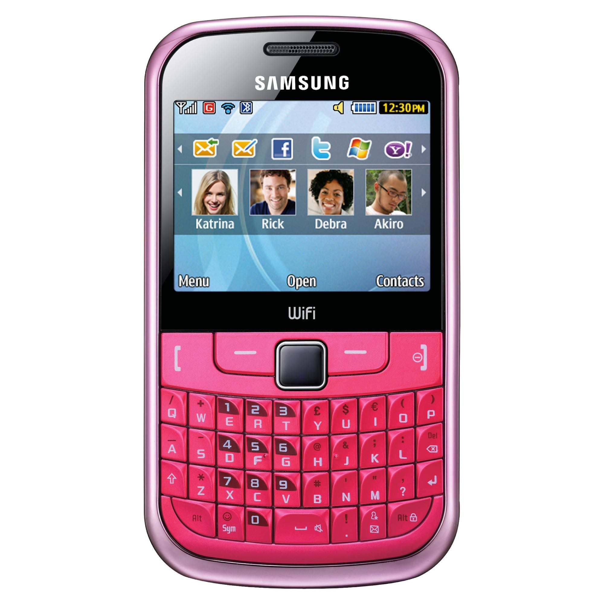 Samsung Ch@t 335 S3350 GSM Unlocked Cell Phone - Pink