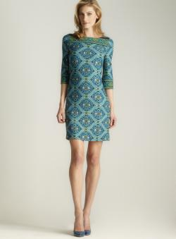 Premise A-line Boatneck Dress