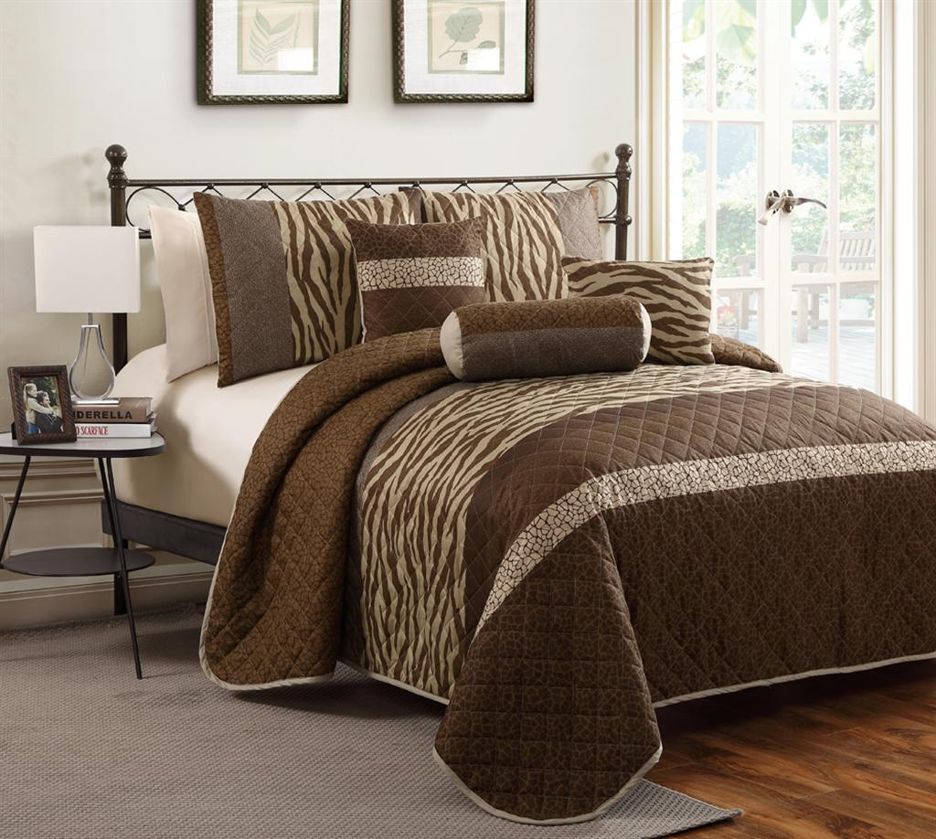 Nairobi Cali Collection 5-piece Quilt Set