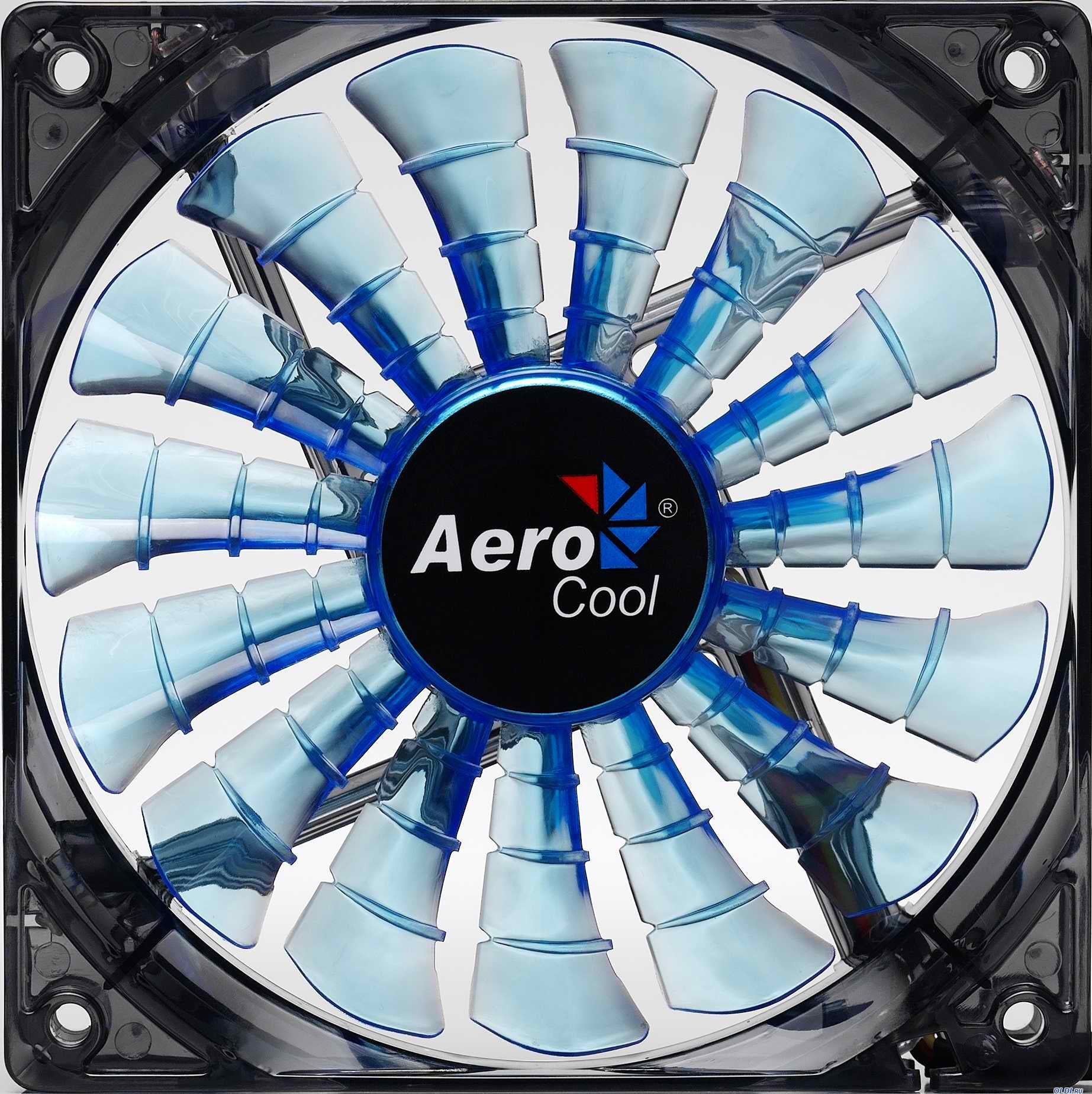 AeroCool EN55420 Shark 120mm Blue Edition Case Fan