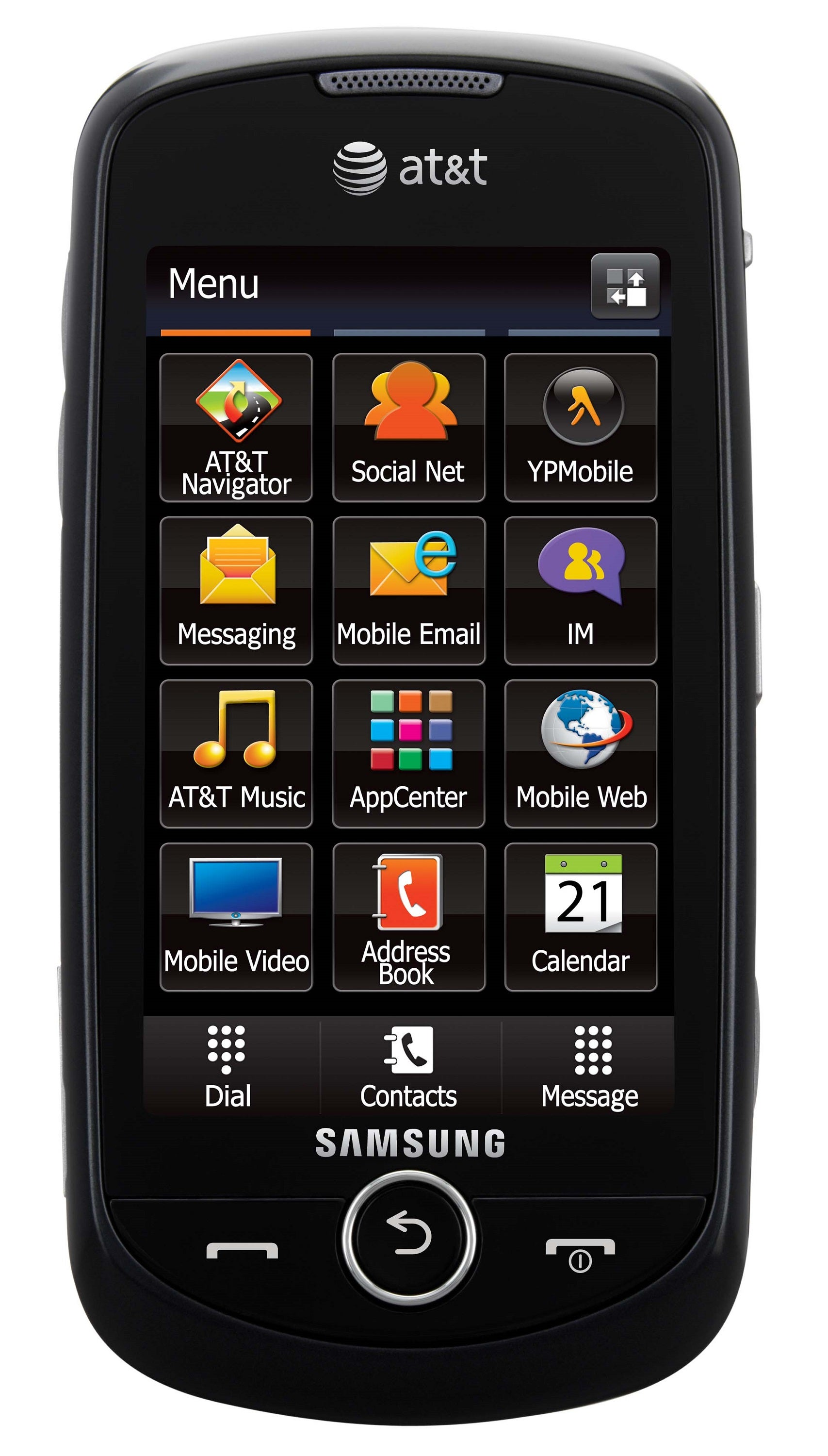 Samsung Solstice II A817 GSM Unlocked Cell Phone - Black