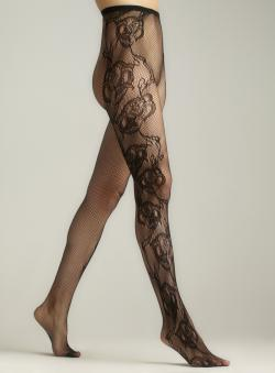 Memoi Botanica Net Tights