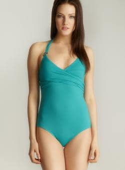 Anne Cole One-piece Halter