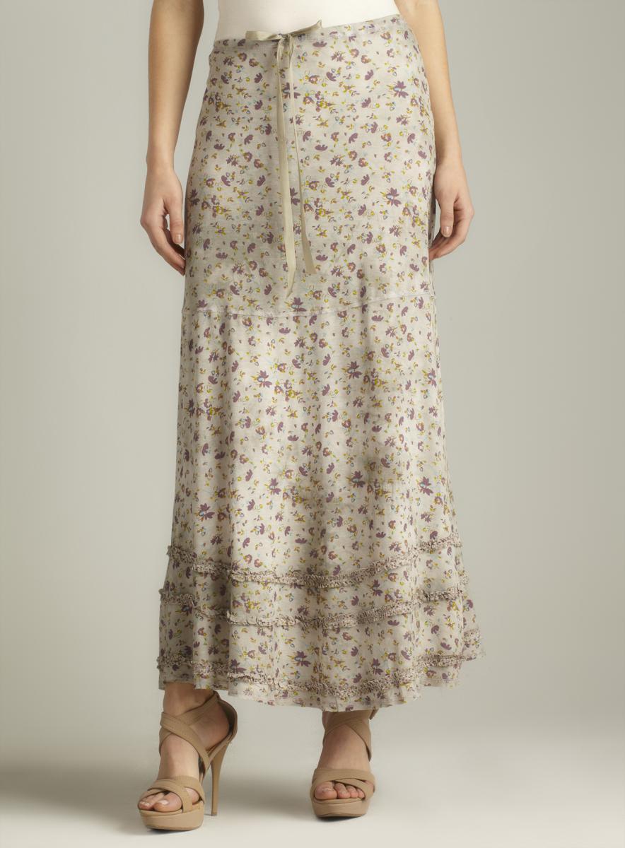 Scrapbook Kimberly Long Floral Skirt