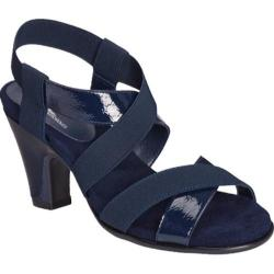 Women's A2 by Aerosoles Kaleidescope Dark Blue Patent