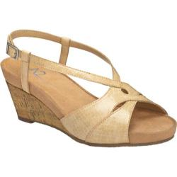 Women's A2 by Aerosoles Stoplight Tan Croco
