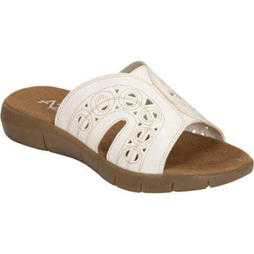 Women's A2 by Aerosoles Wipside White Tumbled Synthetic