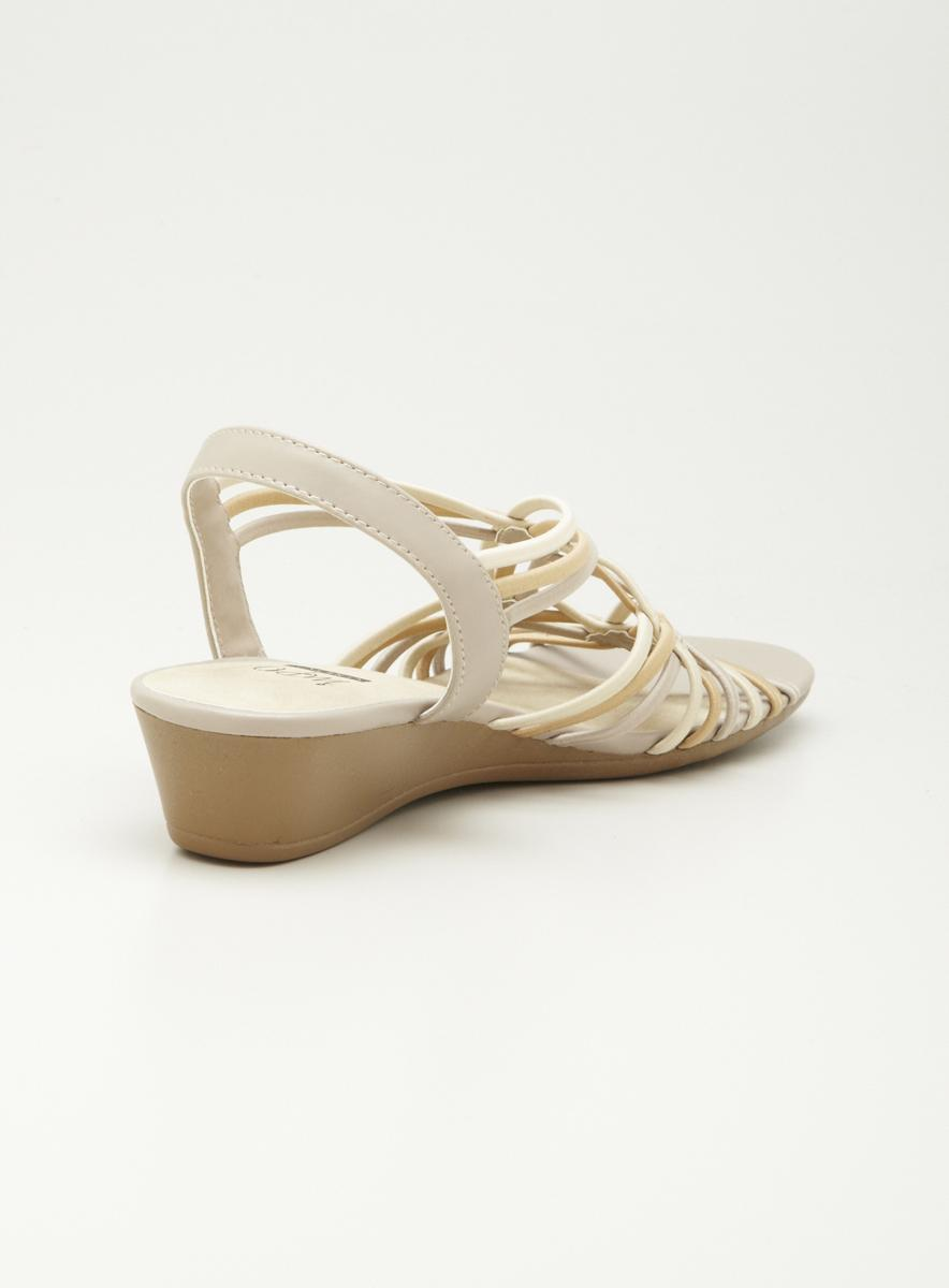 Impo Stretch Sliver Wedge Sandal