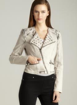Romeo &amp; Juliet Couture Studded Collar Jacket
