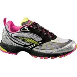 Women's Avia Avi-Bolt XZR Black/Chrome Silver/Zuma Pink/Yellow Glow