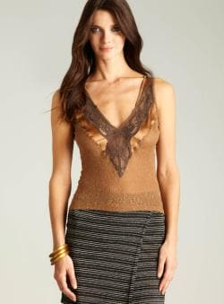 D&G Lace V-neck Tank
