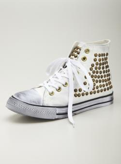 Penny Sue Studded High Top Sneaker