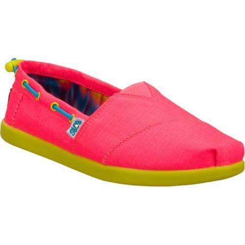 Girls' Skechers BOBS World Toggle Ups Pink/Multi