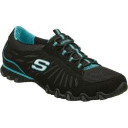Women's Skechers Bikers Century Black/Blue