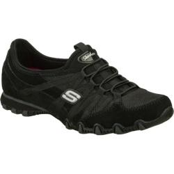 Women's Skechers Bikers Lustrous Black