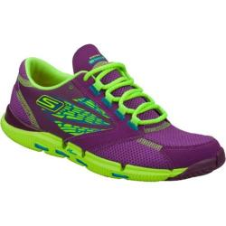 Women's Skechers GObionic Ride Purple/Green