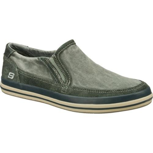 Men's Skechers Relaxed Fit Diamondback Sione Light Gray
