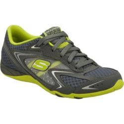 Women's Skechers Seamlessly Shock Value Gray/Green