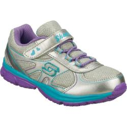 Girls' Skechers Speedees Silver/Multi