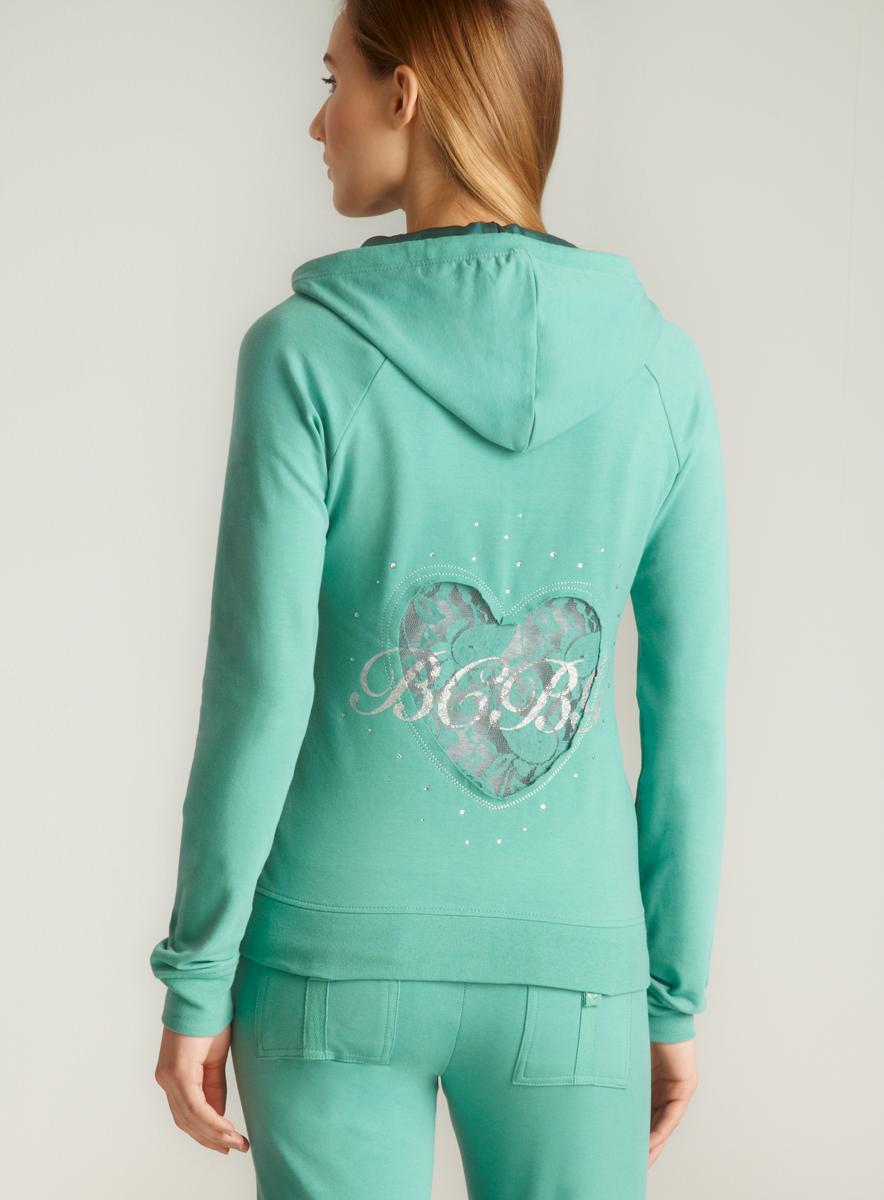 BCBG Lace Heart Jacket