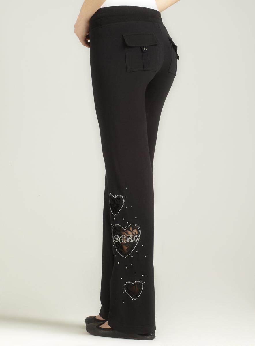 BCBG Lace Heart Pant