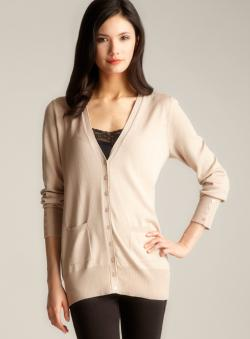 Joseph A Button Cuff Cardigan