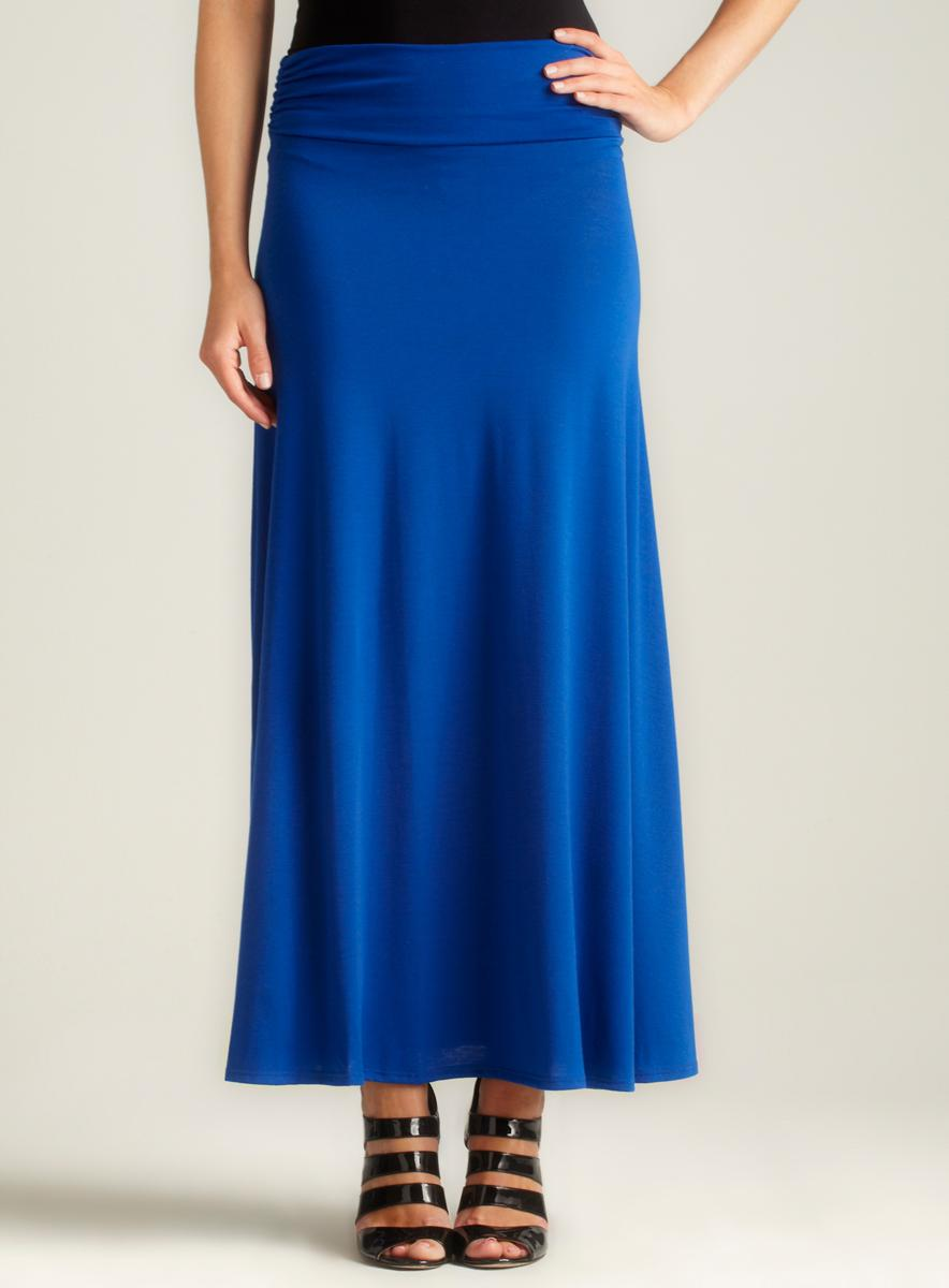 Hiatus Side Cinched Maxi Skirt