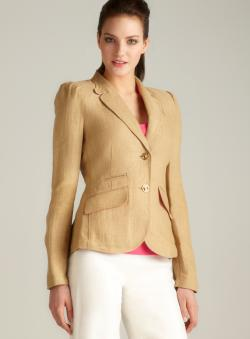 Ivanka Trump Two Button Jacket