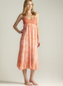 Raviya Tie Dye Crochet Maxi Cover-up