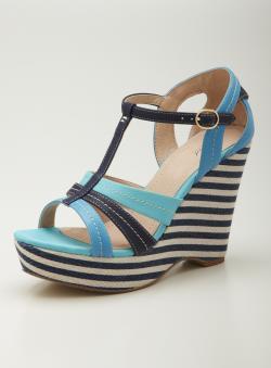 Wanted Mai Tai High Wedge Sandal