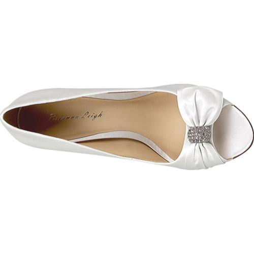 Women's Brianna Leigh Jaynie White Satin