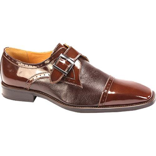 Men's Giorgio Venturi 6298 Light Brown Polished Leather
