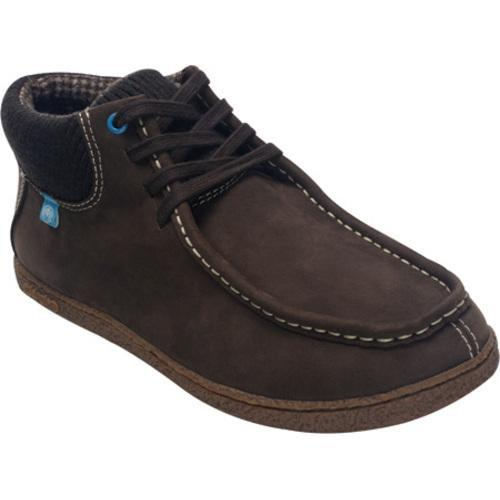 Men's Ocean Minded by Crocs Roa Chukka Boot Chocolate/Electric Blue