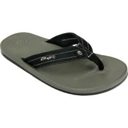 Men's Ocean Minded by Crocs Waveseeker Flip-Flop Black/Charcoal