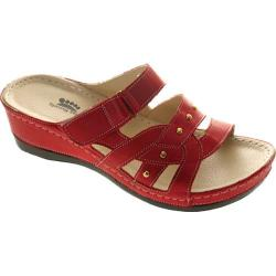 Women's Spring Step Enlighten Red Leather