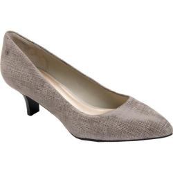 Women's Rockport Lilah Pump Grey Full Grain Leather