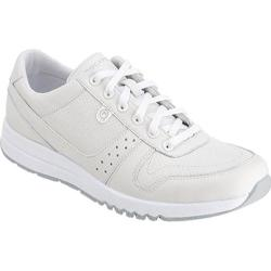 Women's Rockport Zana Walking Sneaker Winter White Leather