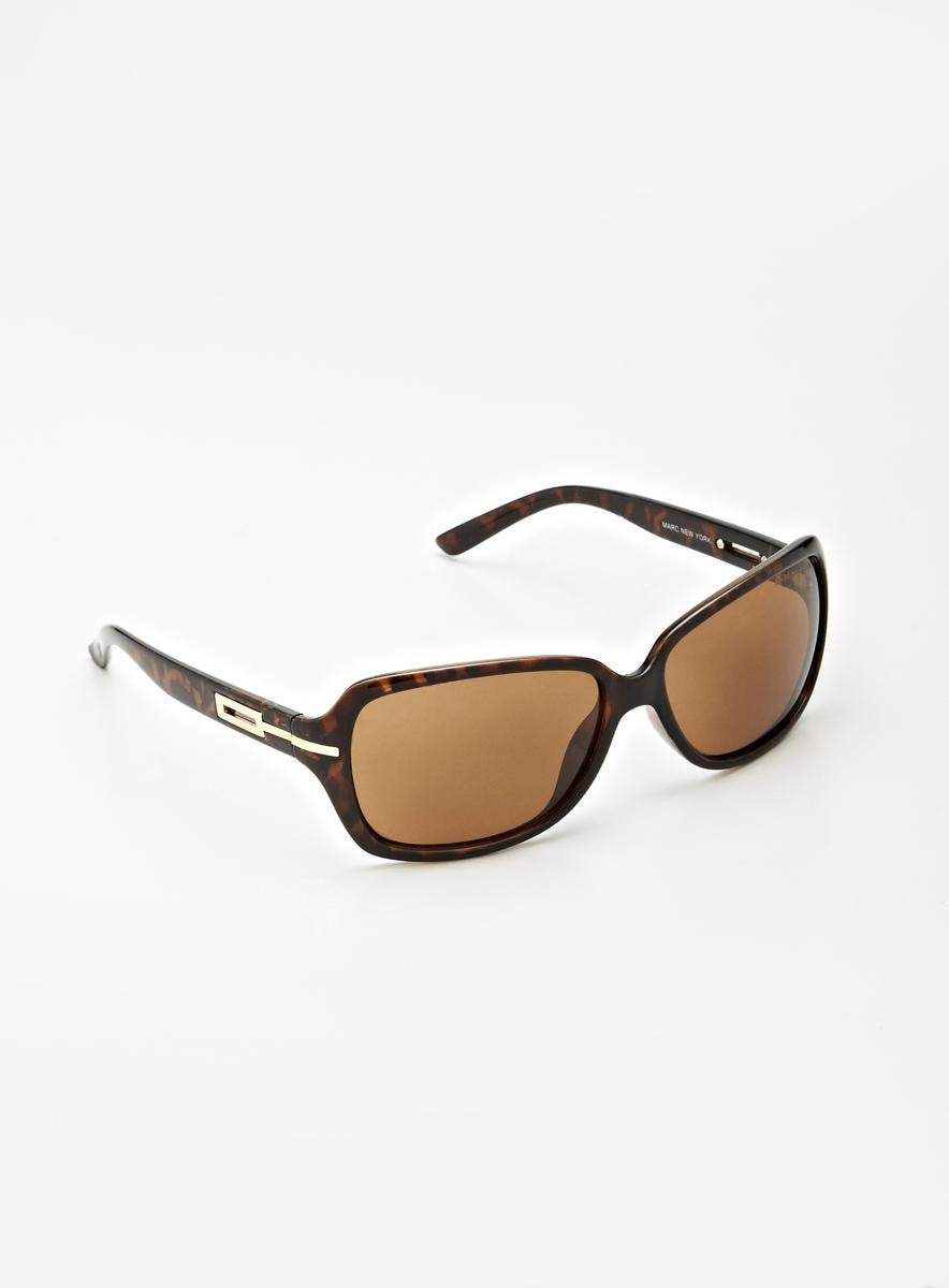 Marc New York Large Rectangle Sunglasses