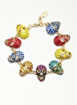 Shay Skull Stone Bracelet