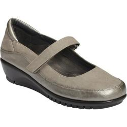 Women's A2 by Aerosoles Agenda Silver Combo Synthetic