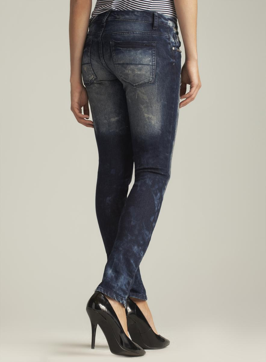 Blue Faith Frayed Skinny Jean