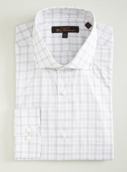 Ben Sherman Plaid Slim Fit Button Down