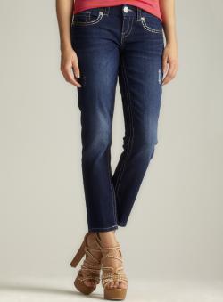 Seven7 Thick Stitch Skinny Jean