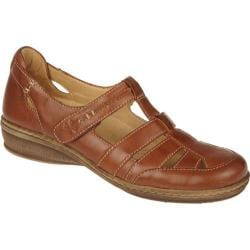 Women's Naturalizer Malta Cognac Burnish Mirage Leather