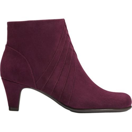 Women's A2 by Aerosoles Playaway Dark Purple Combo Faux Suede