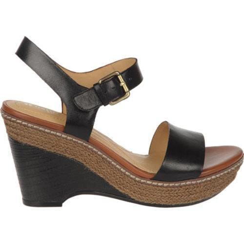 Women's Naturalizer Lark Black Atanado Veg B Plus Leather