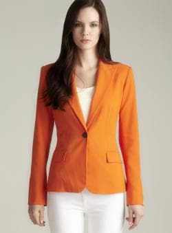Calvin Klein One Button Sunset Jacket
